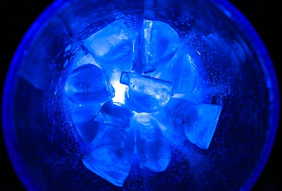 Ice Ice Bubble Glass by Bryan Freeman