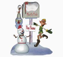 Joyful Greetings .. christmas tee Kids Clothes