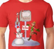 Joyful Greetings .. christmas tee Unisex T-Shirt