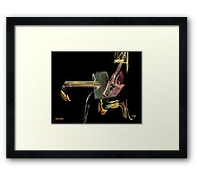 Where Is Wily Coyote? Framed Print