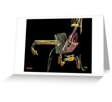 Where Is Wily Coyote? Greeting Card