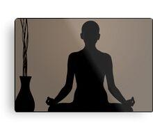 Photography Yoga - Praying Metal Print