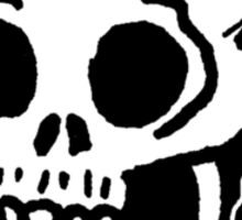 Sharpie Skull by zombieCraig Sticker