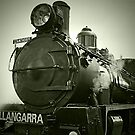 The Steam Engine Wallangarra by Kym Howard