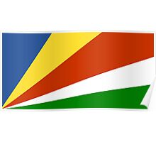 Flag of the Seychelles Poster