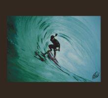 surfing t-shirt by ralphyboy