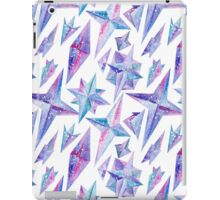 Watercolor Ice Wind Rose Crystals iPad Case/Skin