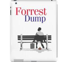 Forrest dump iPad Case/Skin