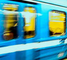 Stockolm Metro by Daniel Weeks