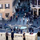 Spanish Steps Shoppers by CiaoBella