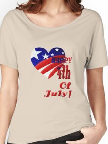 Great American 4th Of July Women's Relaxed Fit T-Shirt