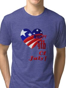 Great American 4th Of July Tri-blend T-Shirt