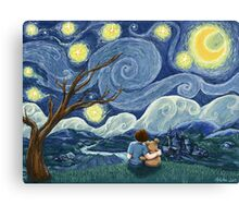 Starry Wishes for Vincent Canvas Print