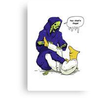 Gelatin Choke - Reaping the Reaper Canvas Print