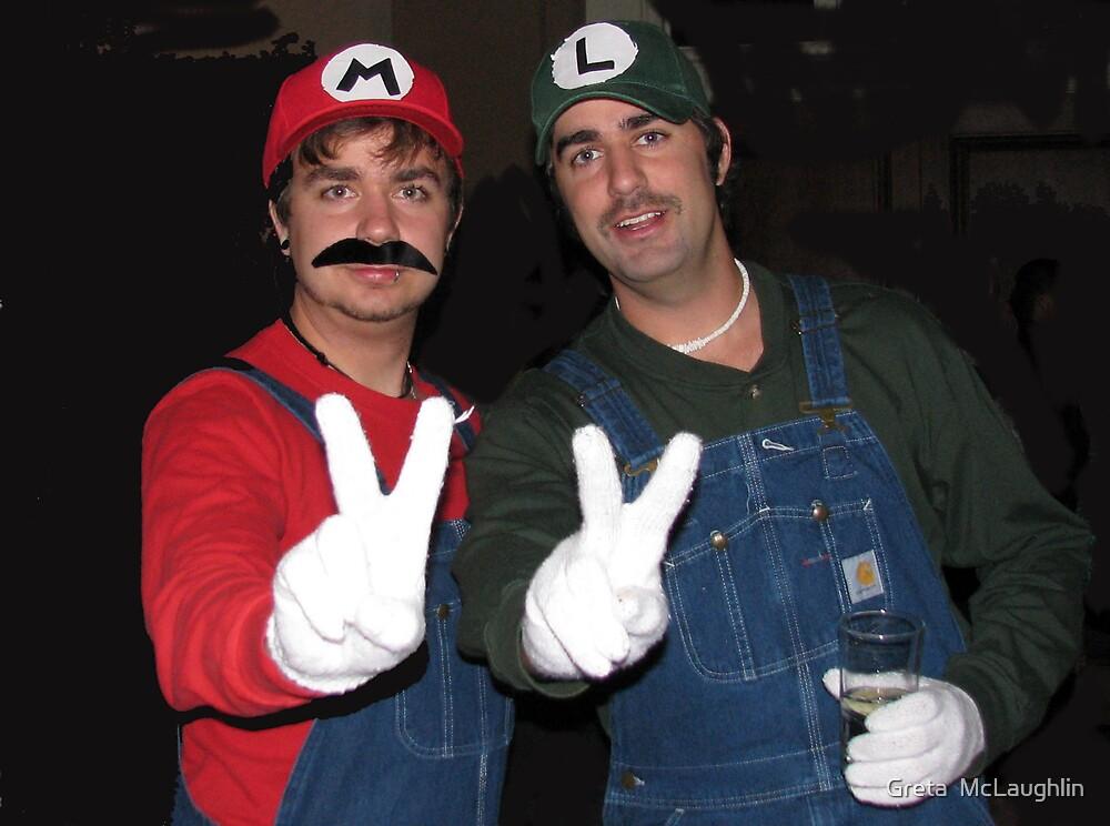 Mario and Luigi by Greta  McLaughlin