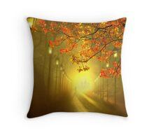 Into The Light Throw Pillow