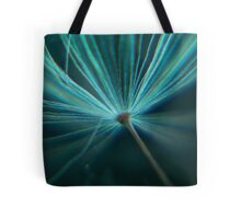 Charged in Blue Three Tote Bag