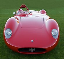 1958 Maserati 450 S by Timothy Meissen