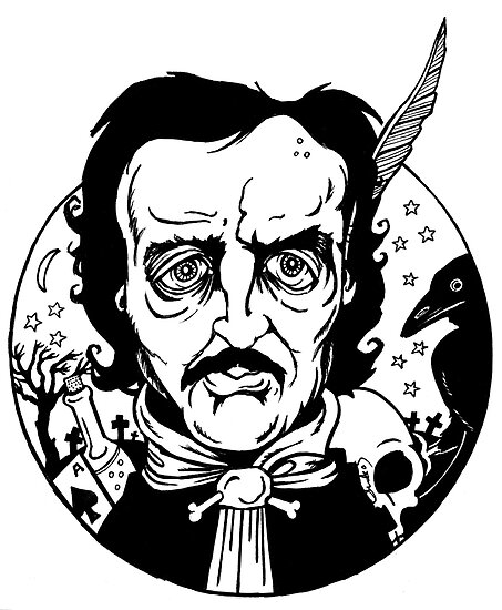 Edgar Allan Poe by Anita Inverarity