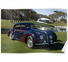 1937 Delahaye Type 145 Poster