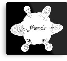 Luna's friends Metal Print