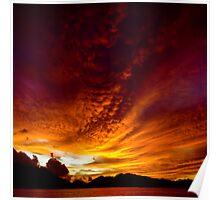 Fiery Skies Poster