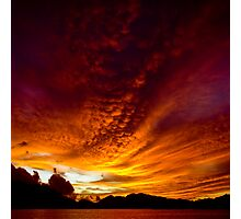 Fiery Skies Photographic Print