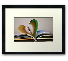 i heart you ❤ Framed Print