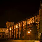 Winchester Cathedral at Night 1 by Bob Culshaw