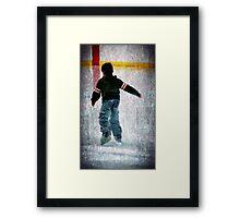Skate Away Framed Print