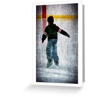 Skate Away Greeting Card