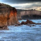 Anglesea Cliffs by Frank Moroni