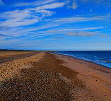 Great Yarmouth Beach, Norfolk, UK by Mark Snelling