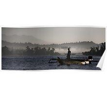 indonesian fisherman Poster