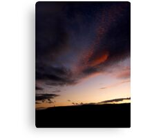 Holcombe Silhouette Canvas Print