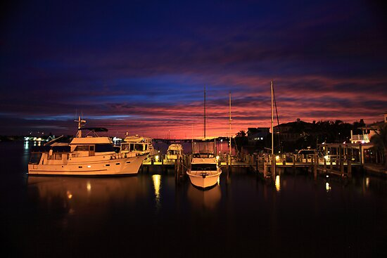 Harbour lights by kathy s gillentine
