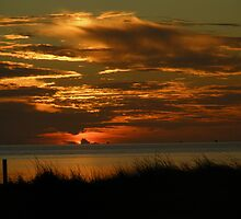 sunset over sound by gregoryletts