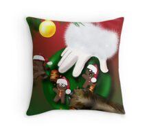 Cookies for Santa Throw Pillow