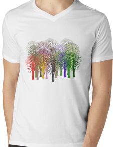 Forest View T-Shirt Mens V-Neck T-Shirt