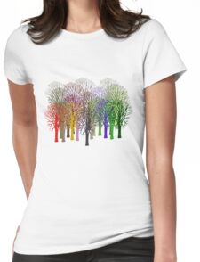 Forest View T-Shirt Womens Fitted T-Shirt