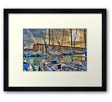 Old Port Framed Print
