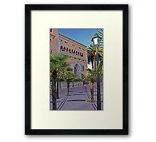 Cascais, house by the beach  Framed Print
