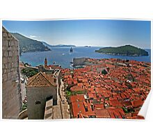 *Dubrovnik view* Poster