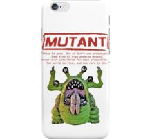 Mutant iPhone Case/Skin