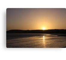 Sunset in Murphs Patch Canvas Print