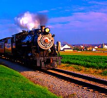 Choo Choo Number 90-Strasburg Railroad by BigD