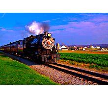Choo Choo Number 90-Strasburg Railroad Photographic Print
