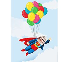 Super Carl Fredricksen Photographic Print