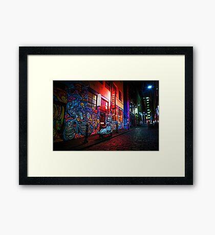 Hosier Lane Framed Print