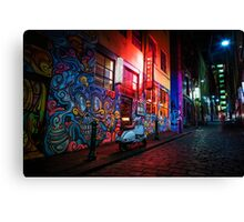 Hosier Lane Canvas Print